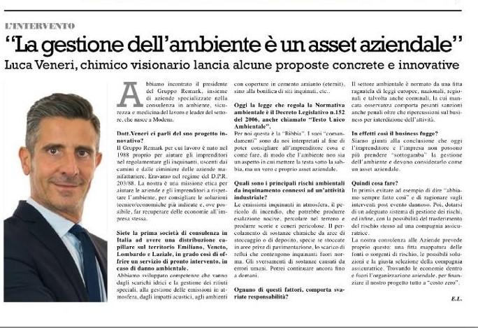 articolo Luca Veneri